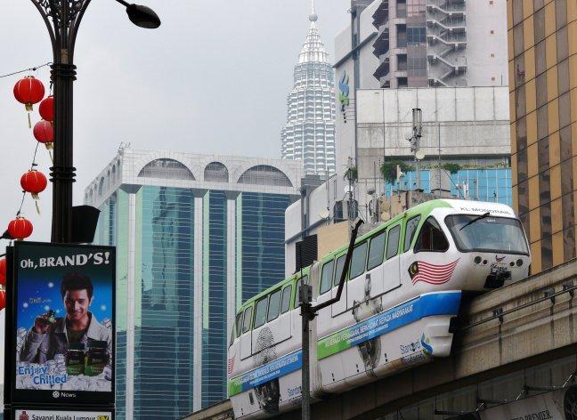 centrum van Kuala Lumpur