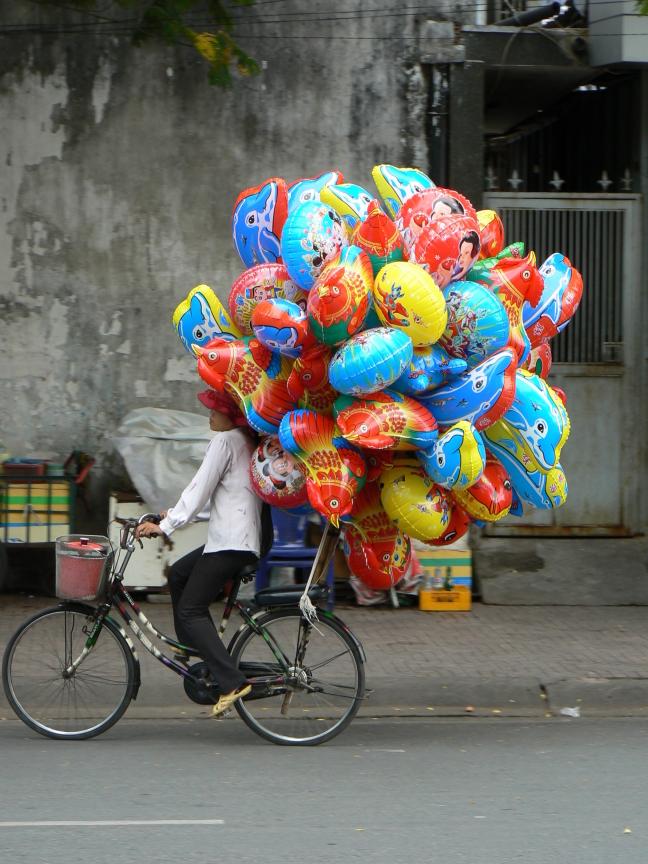 Ballonnen, Saigon