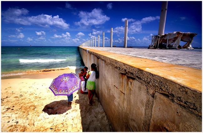 Playa del Carmen - another view