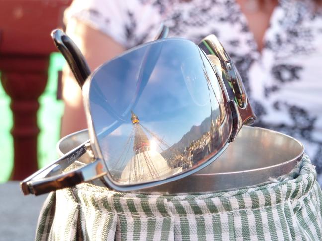 Sunglasses Bouddhinath Kathmandu