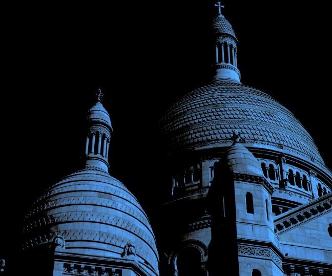 Uitkijkpunt in maanlicht...