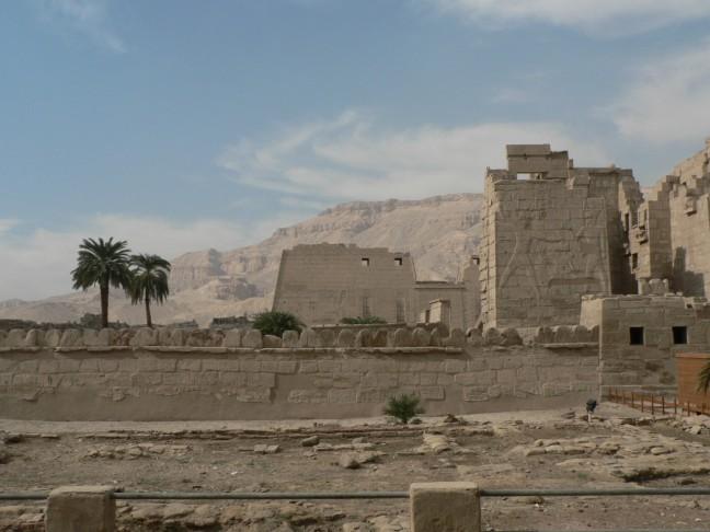 Tempel, omgeving Luxor