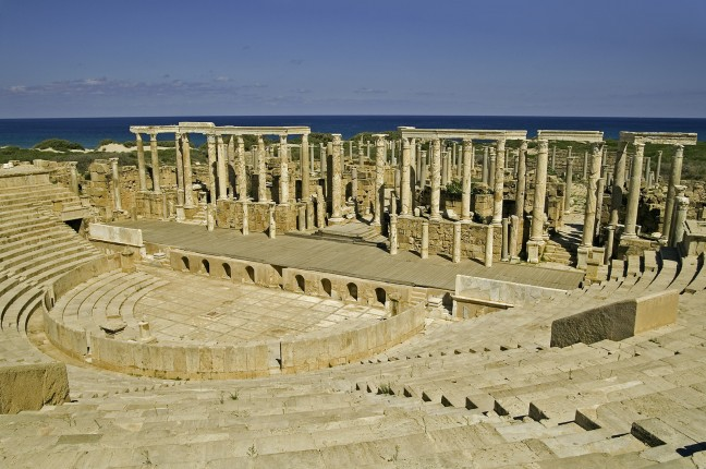 Theater van Leptis Magna