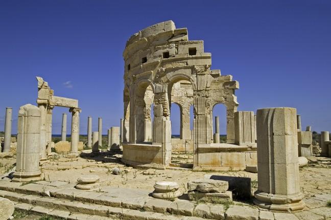 Tempel in Leptis Magna