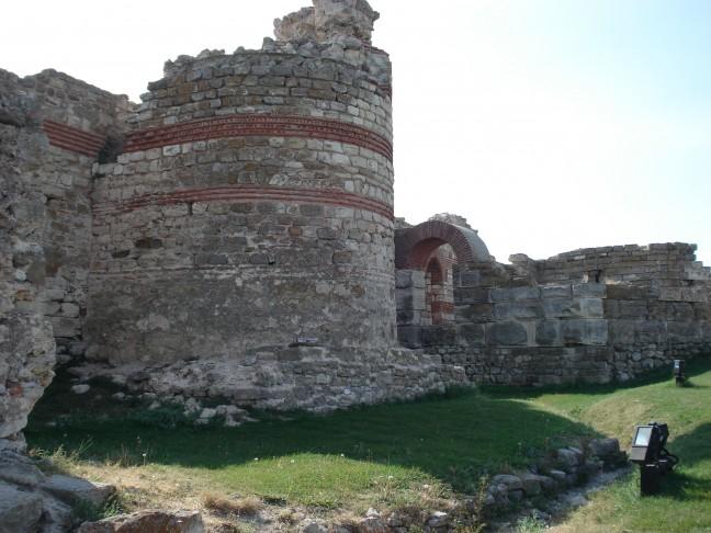 Antieke stadsmuur