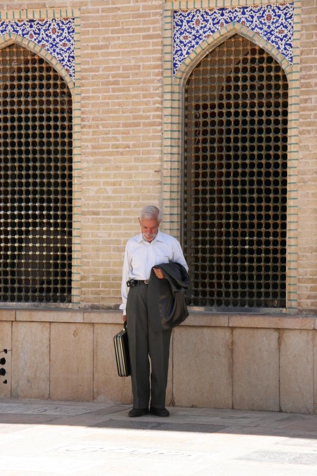 Mannetje in Shiraz