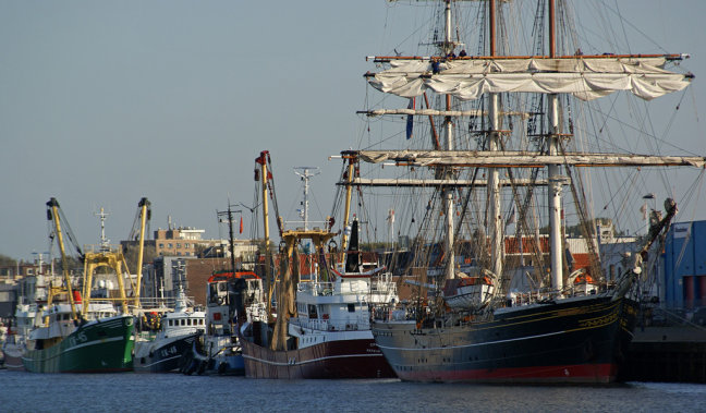 Vissers haven IJmuiden