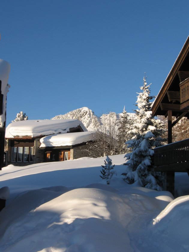 Riederalp in the snow