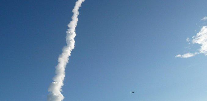 Lancering van de Delta II Raket