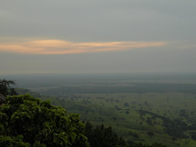 Savanne uitzicht Kichwamba
