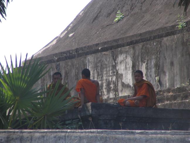 Young monks, Luang Prabang