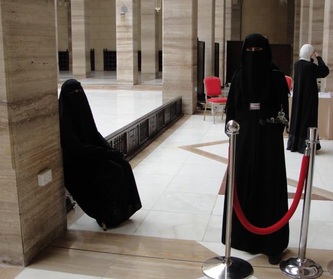 Bij  de Al Fateh moskee