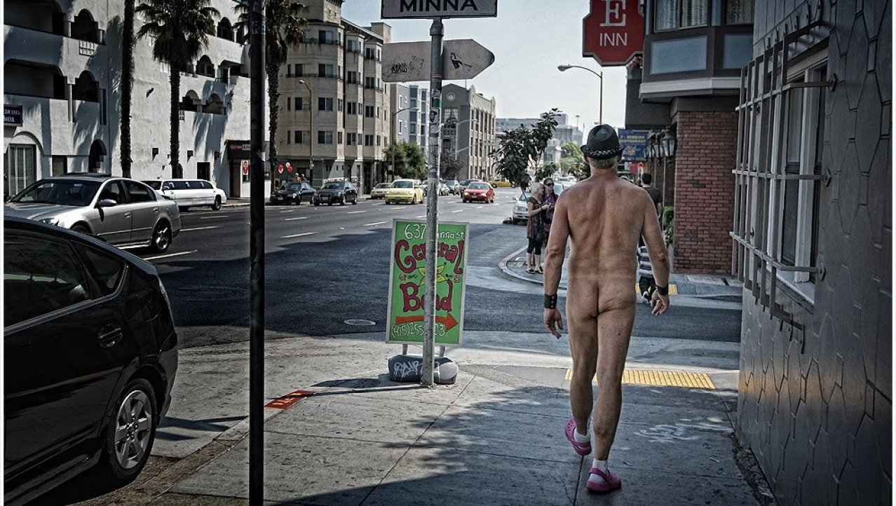 Nudist in San Francisco