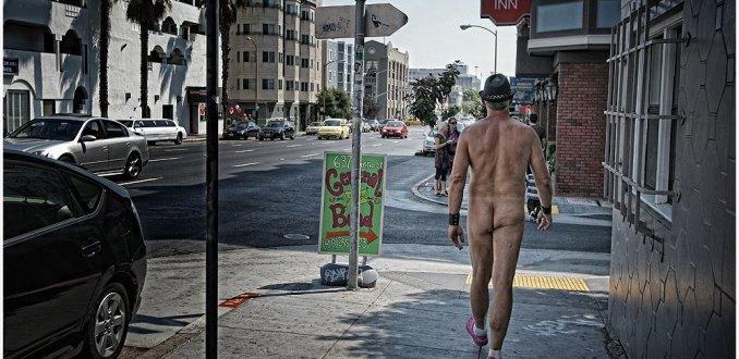 Nudist in San Francisco