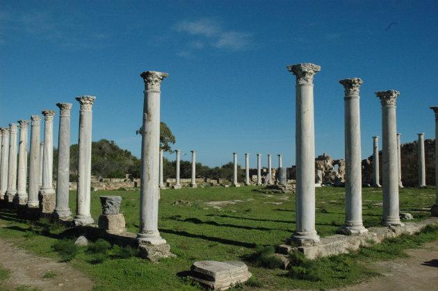 Overblijfselen Salamis