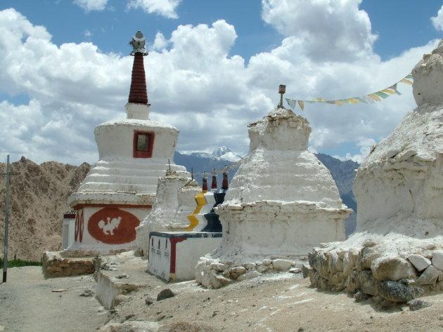 Stupa's bij Phyang