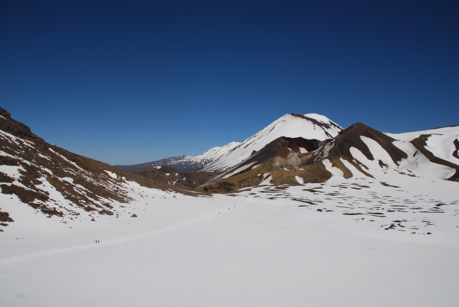 Red Crater Tongariro Crossing
