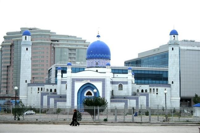 Sierlijke Moskee in Kazachstan
