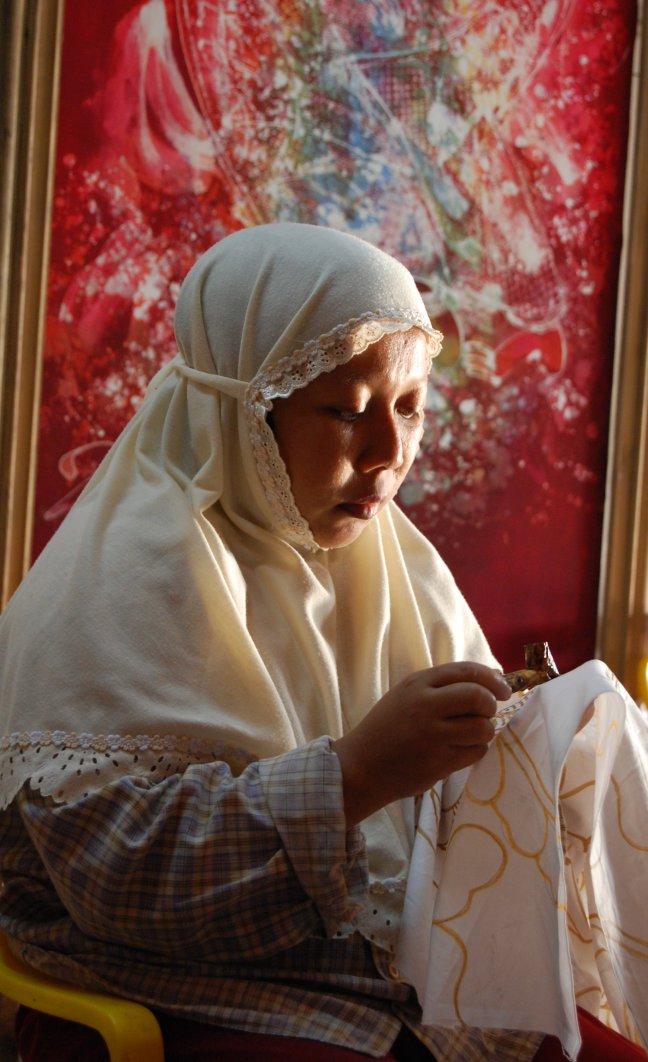 Batik is an art