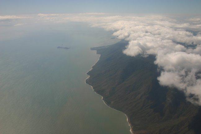 Cairns vauit de lucht