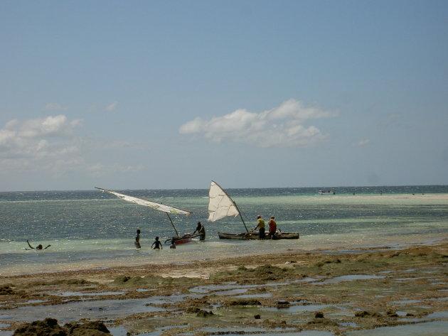 Vissers in Afrika
