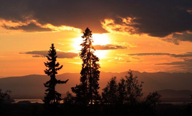 Warm in Alaska