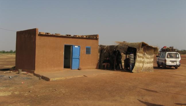 Grens Post BurkinaFaso