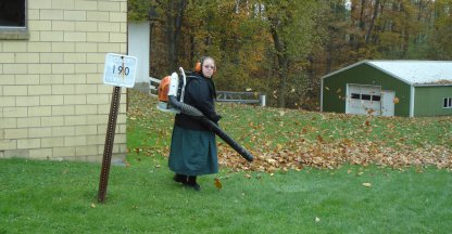 Amish vrouw