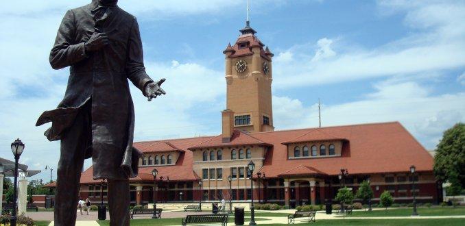 Lincoln in Springfield, Illinois