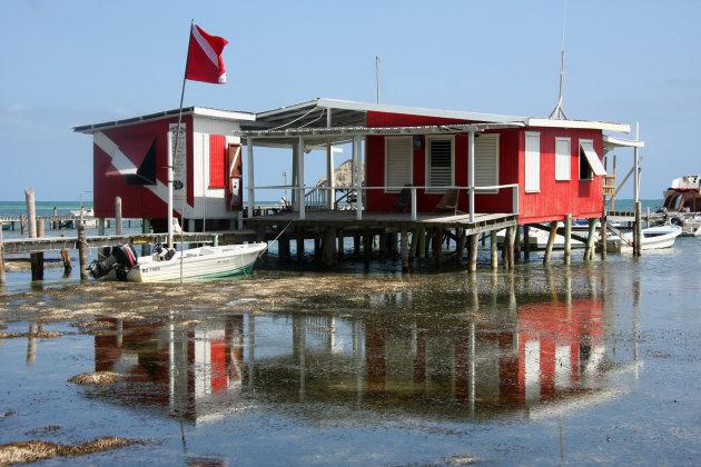 botenhuis Caye Caulker