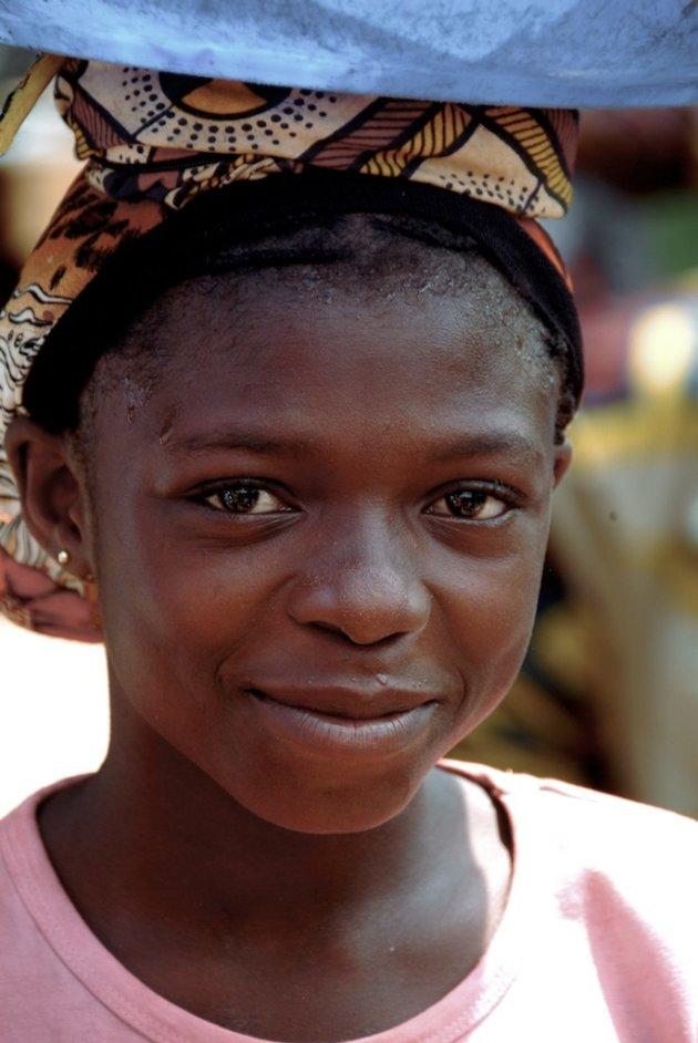 Girl at Oba Market