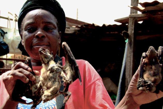 Woman at Oba Market