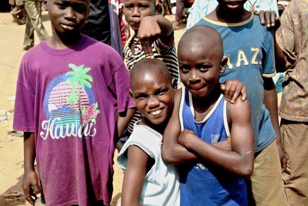 Boys in Benin City