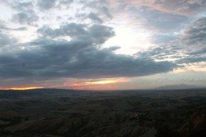 zonsondergang Volterra