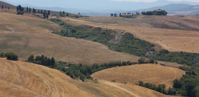 typisch Toscaans landschap
