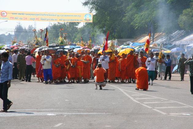 That Luang festival, het startschot