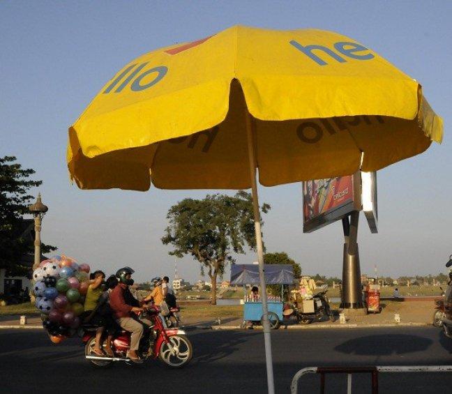 Zomers Phnom Penh