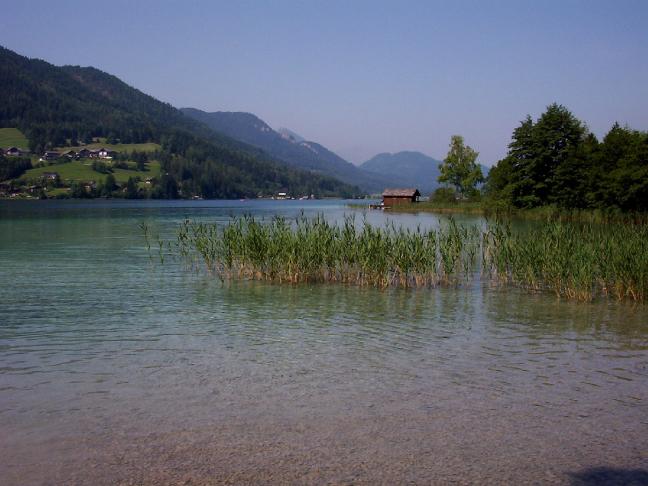 De Weisensee in Karintië