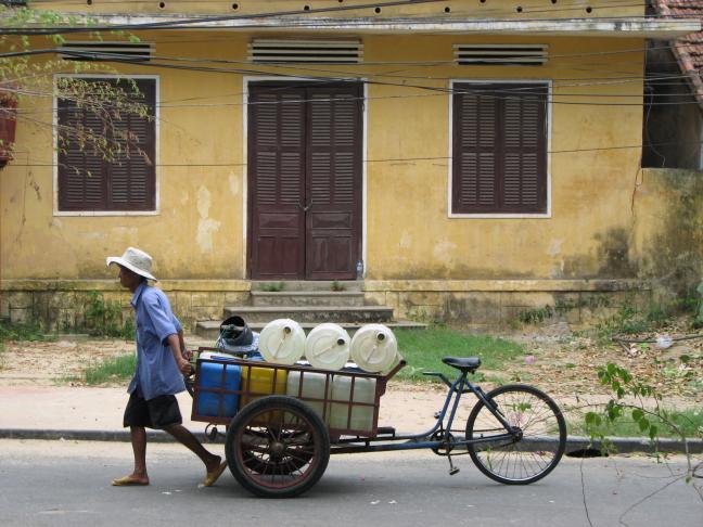 Straat beeld in Hoi An