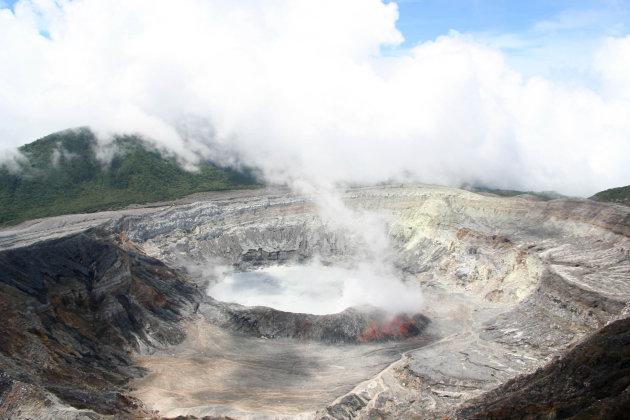 De Poás vulkaan