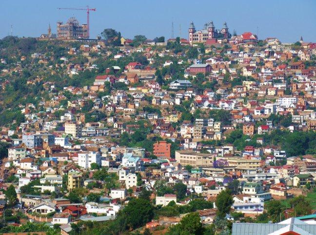 kleurrijke heuvel