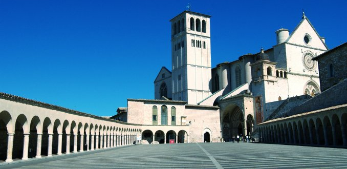 Assissi, Basilica San Francesco