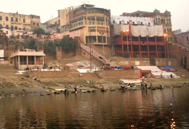 wasserij van Varanasi