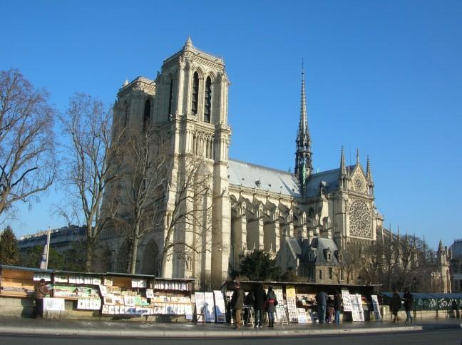 Notre Dame en Boekinisten