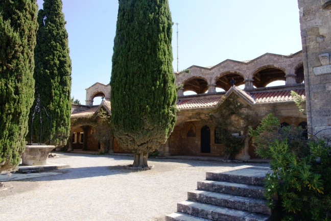 Binnenplaats Klooster Filerimos