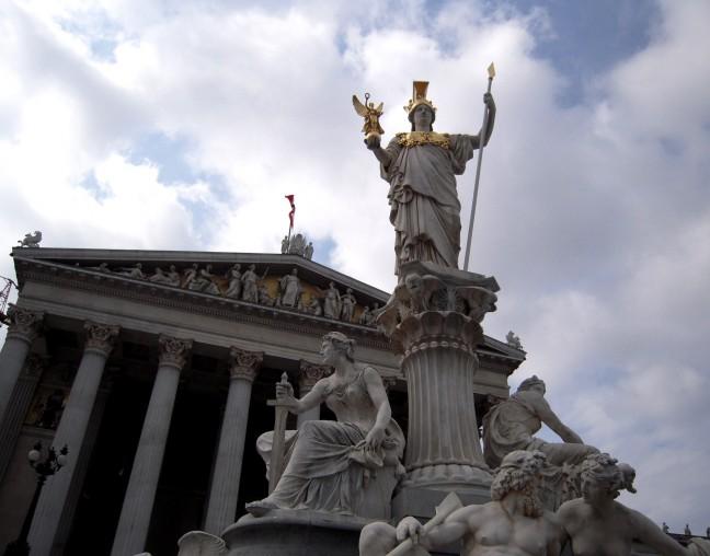 Prachtig stadsbeeld Wenen