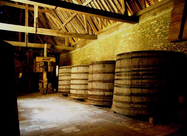 wijnpers Clos de Vougeot