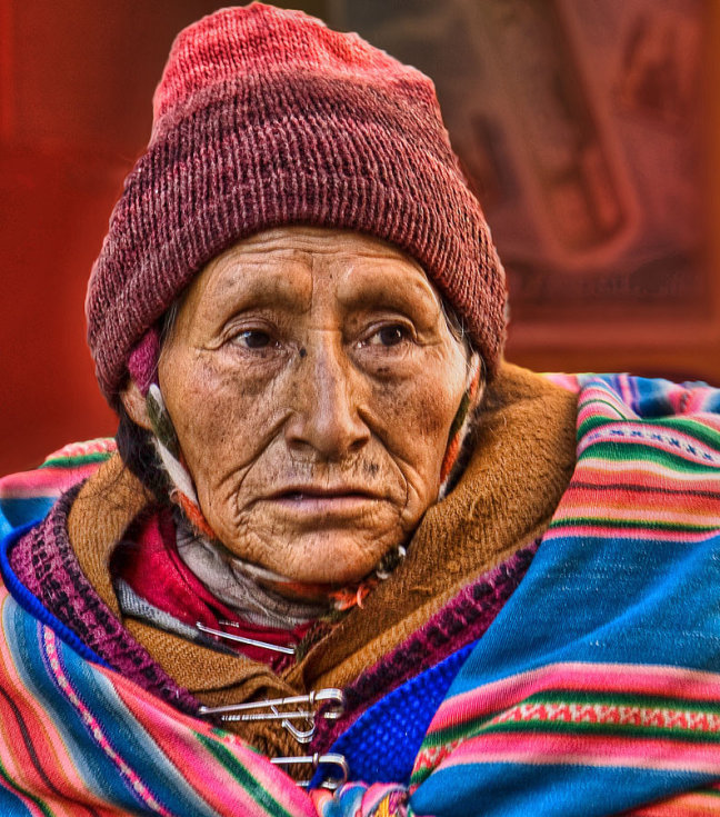 dakloos in Puno