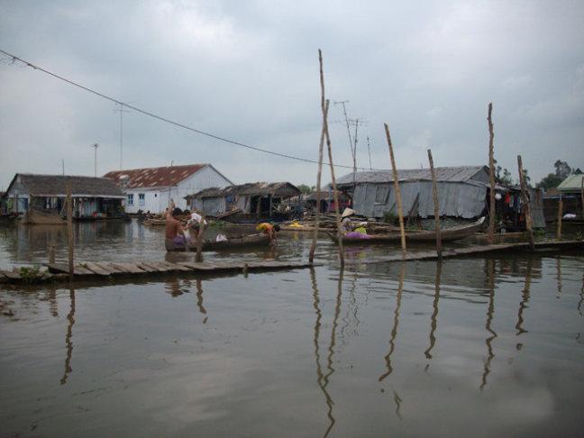 ergens in de mekong delta