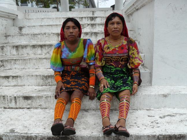 Kuna-meisjes